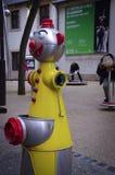 Жидкостный огнетушитель детей, Люксембург Стоковое Изображение RF