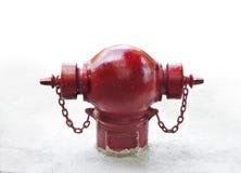 Жидкостный огнетушитель на белой предпосылке Стоковое Изображение