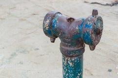 Жидкостный огнетушитель ржавчины стоковое изображение rf