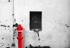 Жидкостный огнетушитель улицы Стоковое Изображение