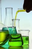 Жидкость в склянку Стоковое фото RF