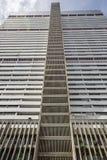 Жилого дома центр города внутри Каракаса стоковое фото