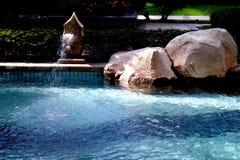 Жилой бассейн стоковое изображение rf