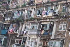 Жилой квартал в Мумбае Стоковая Фотография RF