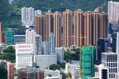 Жилой дом в Гонконге стоковое изображение