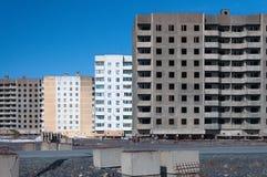 жилой дом Мульти-этажа в Норильск Стоковые Фото