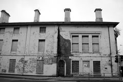 жилой дом старый Стоковая Фотография