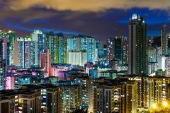 Жилой район в городе стоковая фотография rf