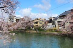 Жилой район Киото стоковое изображение