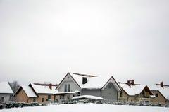 Жилые городские дома Стоковая Фотография RF