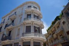 Жилые дома в городе Афин Стоковое фото RF