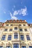 Жилые дома в стиле барокко стоковая фотография