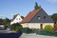 Жилые дома, Германия, Европа стоковое изображение rf