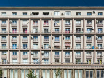 Жилые дома на бульваре Magheru Стоковые Изображения