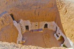 Жилые пещеры Стоковое фото RF
