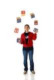 жонглируйте вольностью США Стоковая Фотография