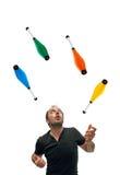 Жонглировать с штырями Стоковое Фото