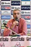 журналист pietro Италии gottardi giro d Стоковое Фото