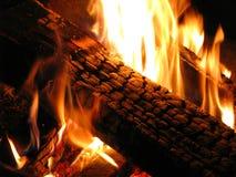 журнал пожара Стоковая Фотография RF