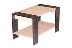Журнальный стол изолированный на белизне Стоковые Фото