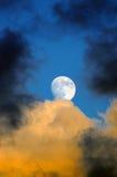 жуткая луна Стоковая Фотография