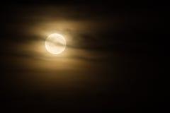 Жуткая луна Стоковое Изображение RF