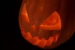Жуткое Джек фонарика Стоковое Фото