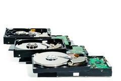 Жёсткий диск для компьютера на изолированной белой предпосылке Стоковое Изображение RF