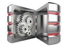 Жёсткий диск с шестернями внутрь Стоковая Фотография RF