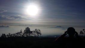 Ждать восход солнца Стоковые Изображения RF
