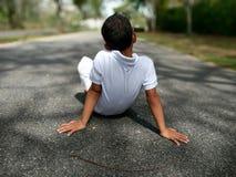 Ждать в дороге Стоковые Изображения