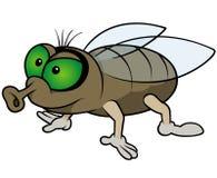 Ждать муха иллюстрация вектора