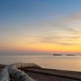 Ждать. Приключение путешественника моря Стоковые Изображения