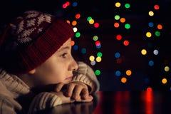 Ждать рождество Стоковые Изображения