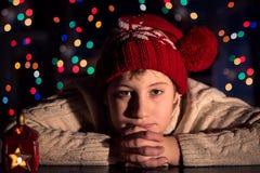 Ждать рождество Стоковое фото RF