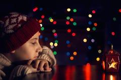 Ждать рождество Стоковые Фотографии RF
