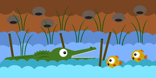 Ждать рыбы Стоковое Изображение