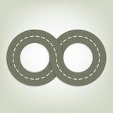 Заасфальтированная дорога Стоковые Фотографии RF
