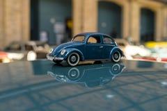 Забавляйтесь модель популярного жука VW автомобиля Стоковая Фотография