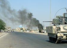 Забастовка Багдад Ирак 07 IED Стоковые Фотографии RF