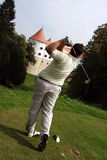 забастовка гольфа Стоковая Фотография
