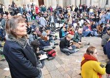 забастовка Стоковая Фотография RF