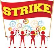 Забастовка Стоковые Фото