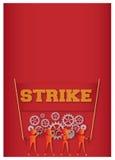 забастовка Стоковое Изображение RF