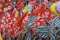 забастовка popolo del аркады Стоковое Изображение RF