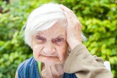 Заболевание ` s Alzheimer стоковая фотография rf