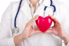 Забота, здоровье, предохранение от и предохранение кардиологии Стоковое Изображение