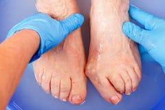 Забота ноги Стоковые Фотографии RF
