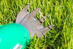 Забота лужайки Стоковые Фото