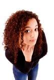Заботливая африканская женщина Стоковое Фото